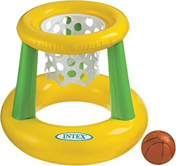Amazon.com: Intex – Floating Hoops 3, incl inflable piscina ...