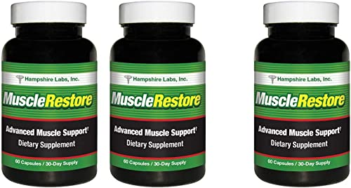 Muscle Restore all natural strength formula helps you stay stronger longer Keep active, mobile and INDEPENDENT Rebuild your muscles and reduce risk of falls, fractures and avoid hospitalization. 3