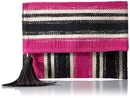 Rebecca Minkoff Serra Foldover Clutch, Pink/Multi