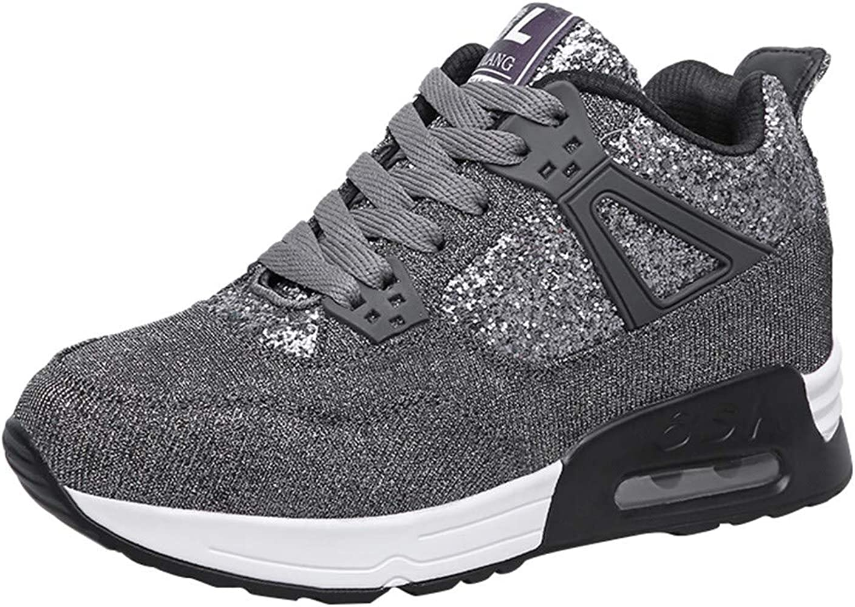 Dacawin Fashion - Zapatillas de Deporte para Mujer (Impermeables, Transpirables) - Gris - 38/US:7: Amazon.es: Ropa y accesorios