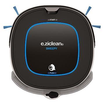 E.ziclean Sweepy Bolsa para el polvo 0.4L Negro, Azul aspiradora robotizada -
