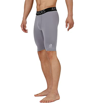 3dab2c12e4347 Amazon.com: ARMEDES Men's Compression Quick Dry Baselayer Activewear Light  Weight Short Pants: Clothing