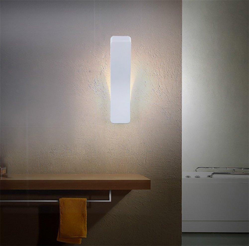 BITAIDENG Lámpara de Pared Retra del Hierro labrado LED lámpara de Pared Decorativa Lámpara de Pared Minimalista Creativa Minimalista nórdica, C