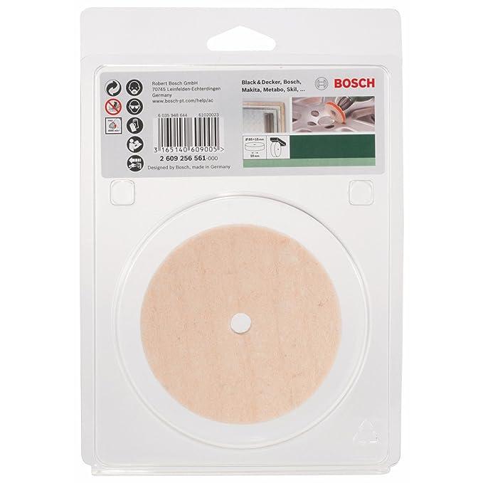 Bosch 2 609 256 561 - Disco de fieltro de pulido: Amazon.es: Bricolaje y herramientas