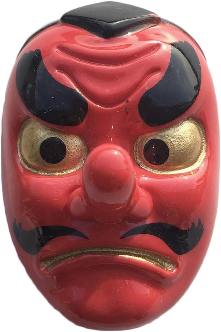 Japan 3D Tengu Mask Refrigerator Magnet Resin Travel Souvenirs,Handmade Home & Kitchen Decoration Japan Fridge Magnet Collection Gift