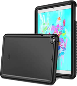 Fintie Case for iPad 9.7 2018/2017, iPad Air 2, iPad Air - [Mighty Shield] Heavy Duty Anti Slip Shock Proof Kids Friendly Drop Protection Silicone Cover for iPad 6th 5th Gen, Black