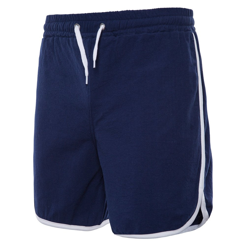 Dream_mimi Mens New Sports Breathable Fashion Pants Summer Fitness Running Pants Navy