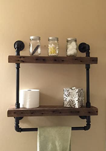 Amazon.com: Barn Wood Bathroom Shelves: Handmade