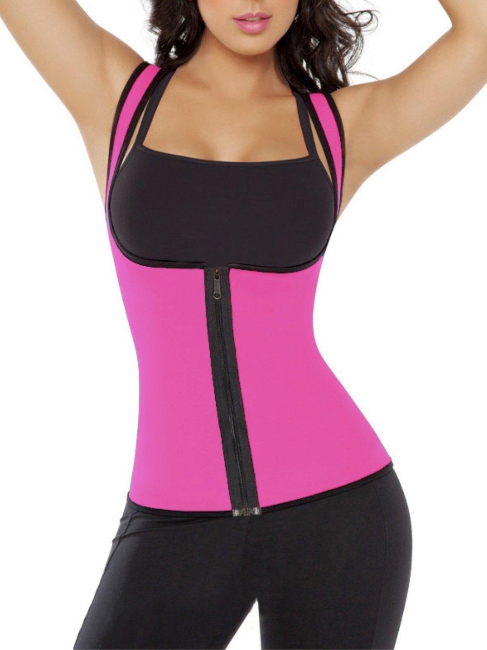 Arllision SHIRT レディース B074XSN1Q9 Large|Pink&black Pink&black Large