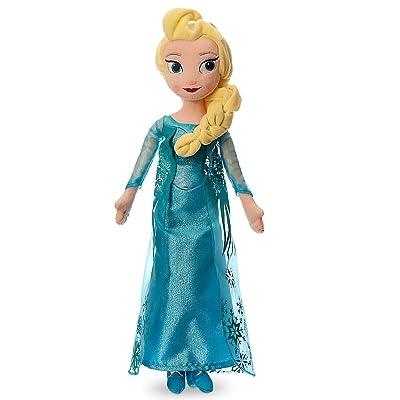 Disney Elsa Plush Doll - Medium - 20 Inch: Toys & Games