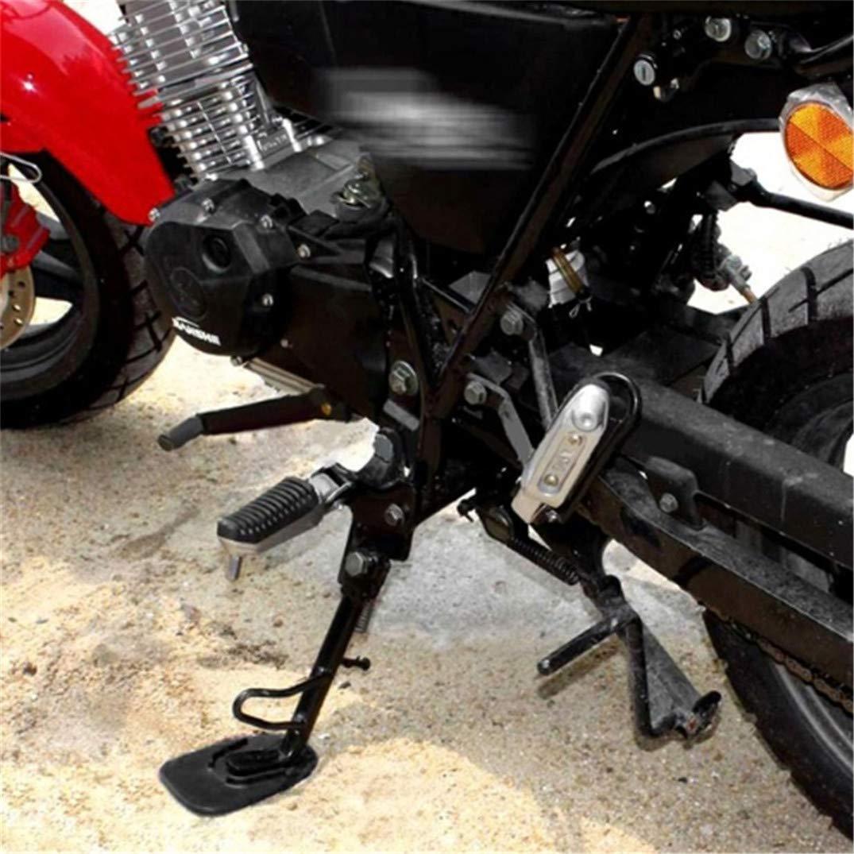JOOFFF Motorrad Kick Stand Motorrad Halterung Platte Motorrad Seitenst/änder Rutschfeste Platte Motorrad Kickstand Pad Park Stehen