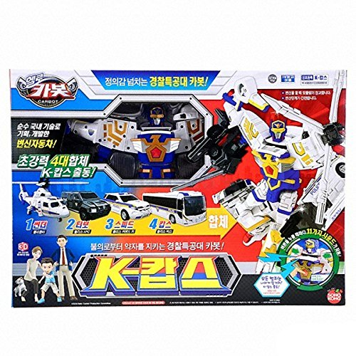 Hello Carbot K-Cops Transformable Robots (Hyper 21 Engine)