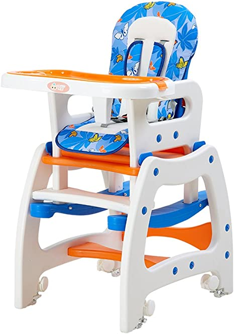 Travel Cots Brisk 3 in 1 Baby High Chair Desk Convertible