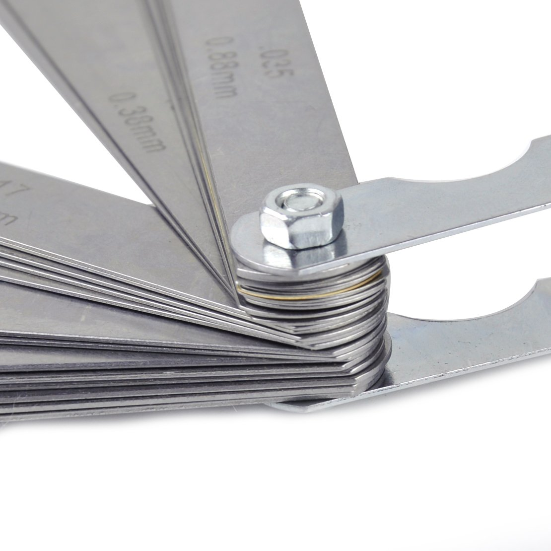 beler 32 Blade Dual Lese Kombination Master Fehler Dickenmessger/ät Kit Metric Messwerkzeug