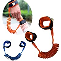 Carecroft Baby Anti Lost Strap Wrist Link Safety Belt Child Harness Leash Hand Band Wristband Rope Walking Kids Toddler Cuff (1.5 M - Colour May Vary)
