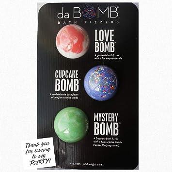 Amazon.com: Da Bomb Bomba de baño Fizzers fiesta Favor Set ...