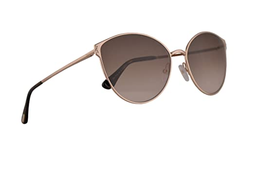 189cc5ec18 Amazon.com  Tom Ford FT0654 Zeila-02 Sunglasses Shiny Rose Gold w ...