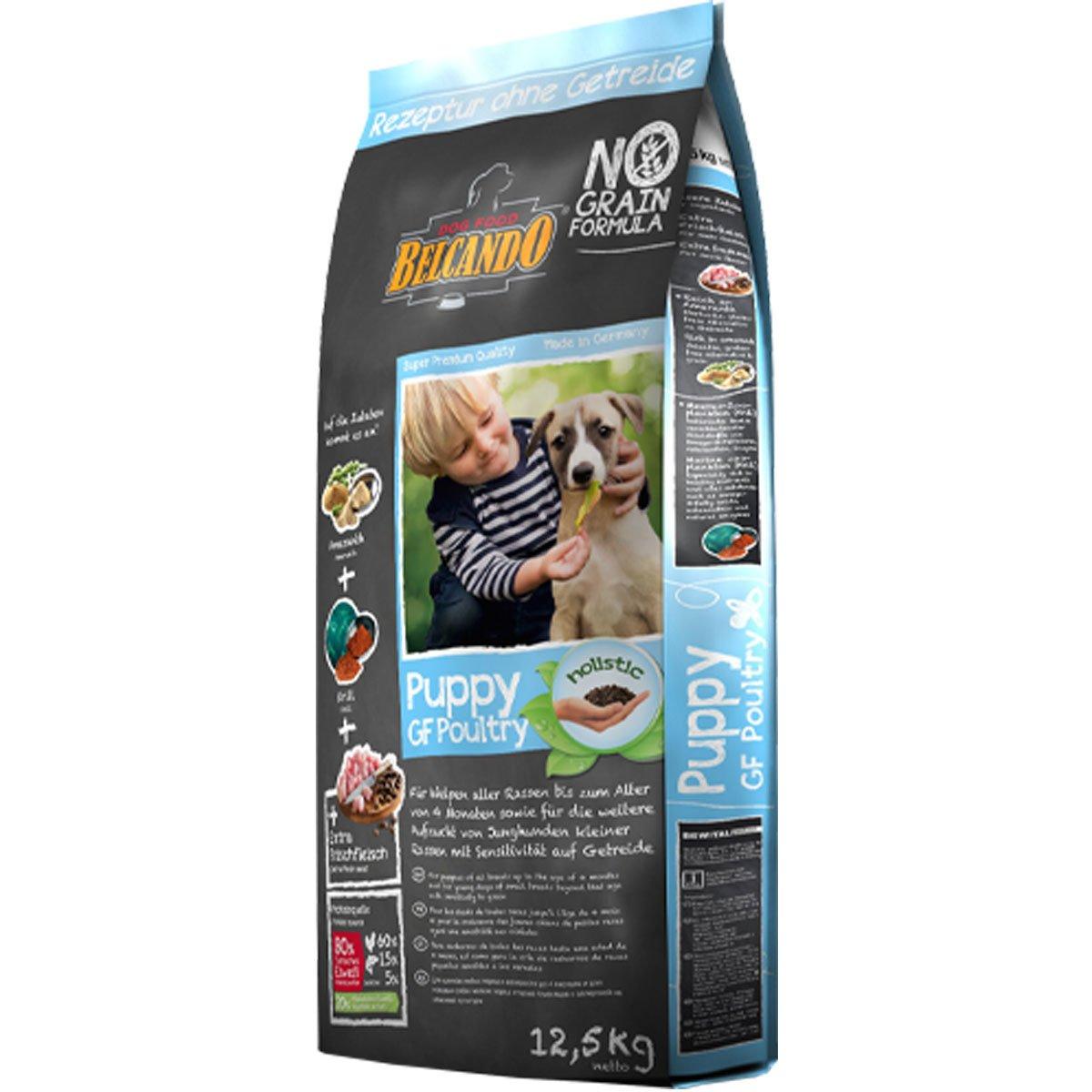 BELCANDO - Grain Free Puppy Food Poultry: Amazon co uk: Pet