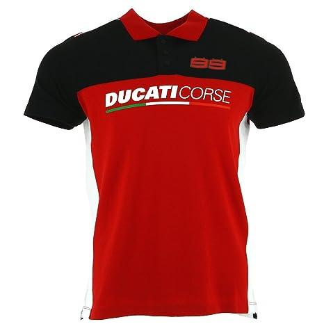 Ducati Corse Jorge Lorenzo 99 Moto GP Carreras Camisa polo ...