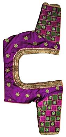 84d545b58fd28d Image Unavailable. Image not available for. Colour  sssfashions Women s  Maggam Work Pattu Blouse ...
