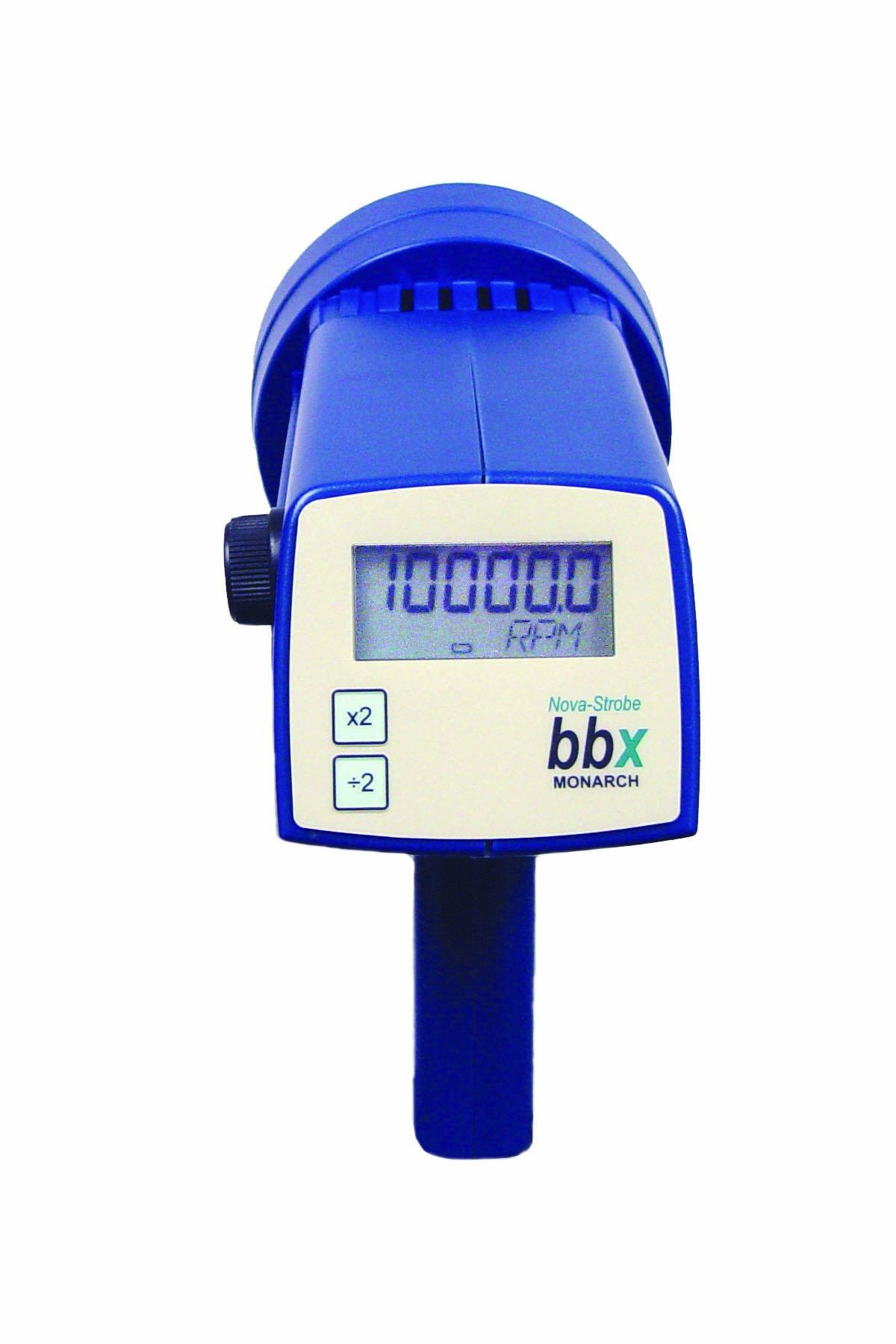 Monarch Nova-Strobe BBX 115/230 Digital Portable Stroboscope, Rechargeable, 7.81'' H x 9'' L x 3.66'' W by Monarch Instrument