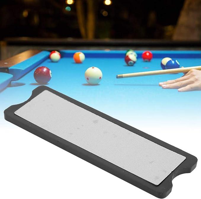 Alomejor Billar Pool Cue Tip Shaper Snooker de aleación de Aluminio Duradero Billar Pool Stick Cue Tip Shaper Burnisher Herramienta de reparación de Archivos: Amazon.es: Deportes y aire libre