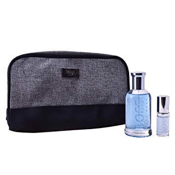 77e3c4c814 BOSS BOTTLED TONIC SET 3 pcs edt vapo 100 ml + edt vapo mini 8 ml +  toiletbag: Amazon.co.uk: Health & Personal Care