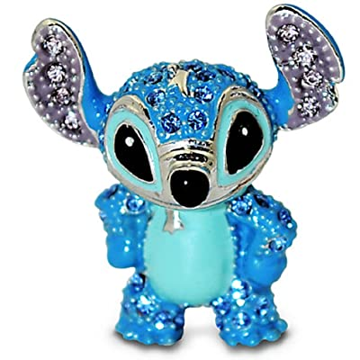 Disney - Stitch Figurine By Arribas - Jeweled Mini - New in Box: Home & Kitchen