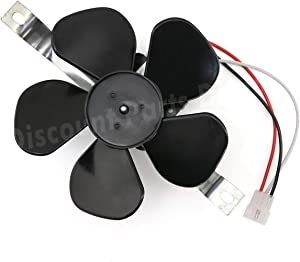 97012248 Range Hood Fan Motor & Blade Replacement for Broan Nautilus BP17, 99080492, S97012248