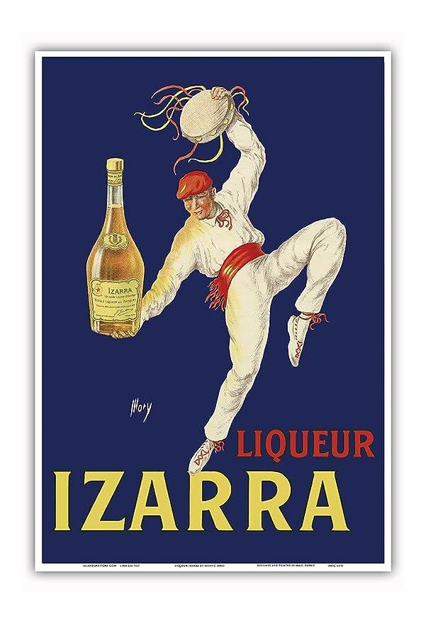 Amazon.com: Liqueur Izarra - Grande Liqueur de la Côté ...