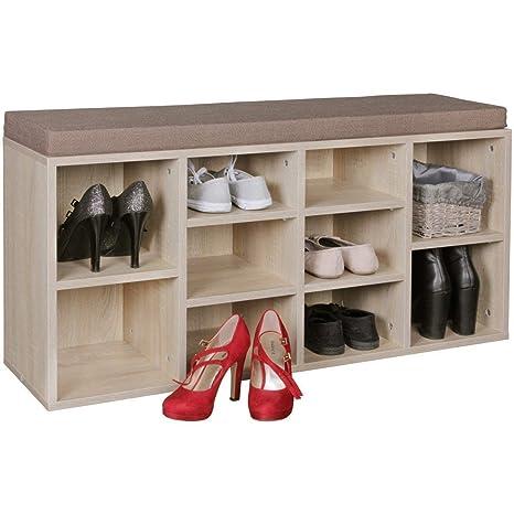 Wohnling Zapato Banco con Asiento Laura Sonoma Piso Banco ...