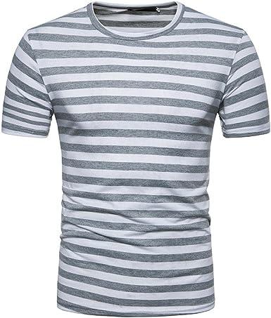 FAMILIZO Camisetas Manga Corta Hombre Moda Camisetas Hombre ...