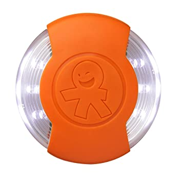 Amazon.com: Okiedog Clipix – LED luz de seguridad, naranja: Baby