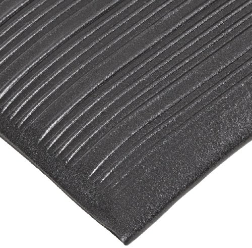 NoTrax 410 PVC Airug Safety/Anti-Fatigue Floor Mat, for Dry Areas, 3' Width x 12' Length x 3/8
