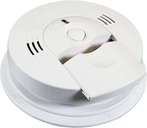Kidde KN-COSM-IB AC Wire-In Combination Carbon Monoxide And Smoke Voice Alarm with Battery Backup