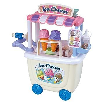 Playgo Carrito de Helados Gourmet Ice Cream Cart Incluye 28 Uds Plastico 3500: Amazon.es: Juguetes y juegos