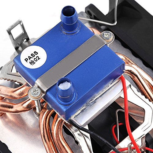 DC 12V Thermoelectric Cooler Peltier System Semiconductor Refrigeration Water Chiller Cooling Device for Fish Tank(120W (for 30L tank)) by Hilitand (Image #8)