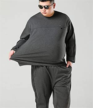 YOJDTD Suéter, Traje de engorde, suéter Grande, Traje Gordo ...