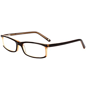 f015730a6f4 Amazon.com   LianSan Brand Designer Acetate Reading Glasses Men Full Frame  Readers Glasses Women Reading Eyeglasses L7010H (+4.00