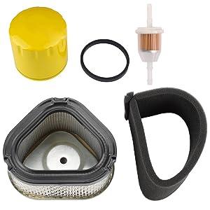 Harbot 12 083 05-S 12 883 05-S1 1208314 Air Filter with Pre Filter John Deere M92359 Lesco 050585 for Kohler Command Pro CV11 CV12.5 CV13 CV14 CV15 CV16 Lawn Mower