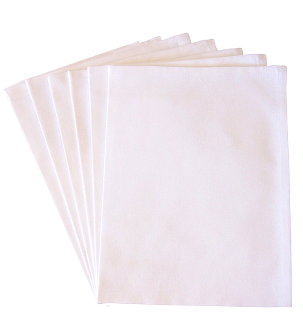 Blank Towel: Blank Kitchen Towels / Dish Towels For Embroidery / Screen