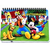 Disney Mickey Mouse GANG Autograph Book