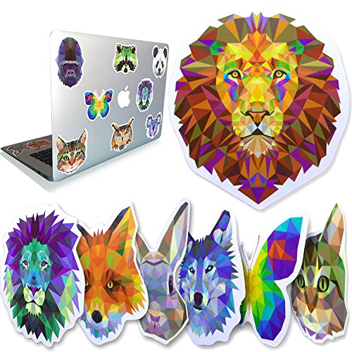 WADOXY Premium Stickers- The Original Full 34 Pack – Our PVC Waterproof Vinyl Decals- Non Random, With No Inappropriate Stickers! For Laptop, Water bottles, Cars and More by WADOXY