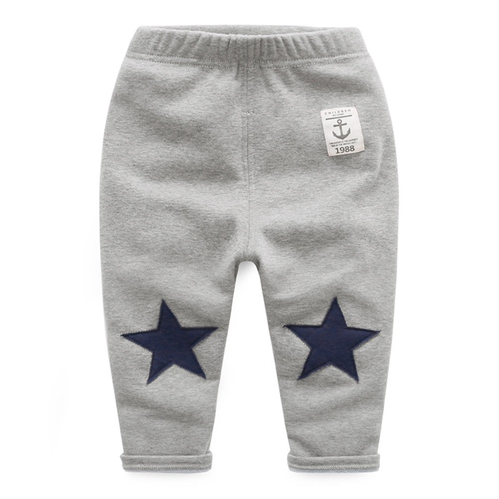 Mud Kingdom Toddler Boys' Stars Fleece Pants SK0069