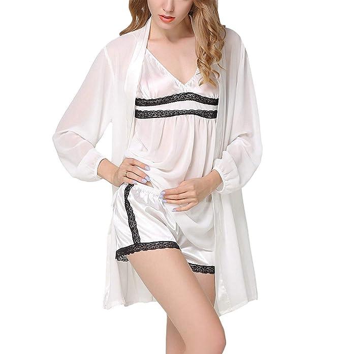 Mujer Conjunto De Pijama Primavera Otoño Perspectiva ...