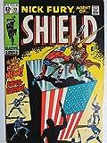 NICK FURY AGENT OF SHIELD 13 VF July 1969 COMICS BOOK