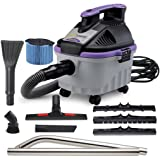 ProTeam Wet Dry Vacuums, ProGuard 4 Portable, 4-Gallon Wet Dry Vacuum Cleaner with Tool Kit