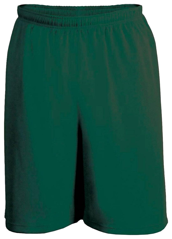 Hot C2 Sport Big Boy's Mock Mesh Elastic Waistband Short, Forest Green for cheap