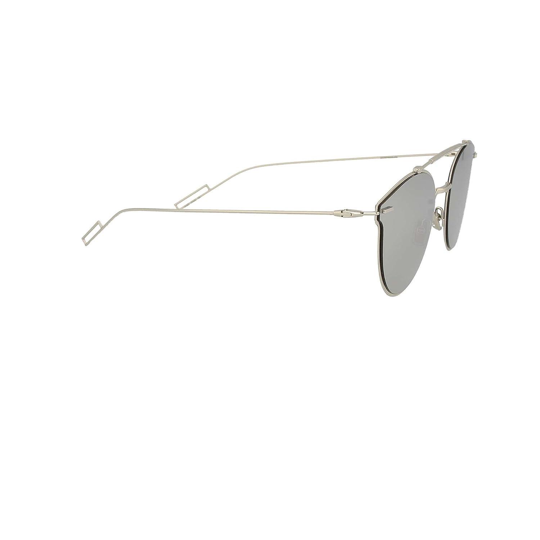 a0d926ff4dbb Amazon.com  Dior Homme Pressure 010 Palladium Pressure Round Sunglasses  Lens Category 3 Len  Dior Homme  Clothing
