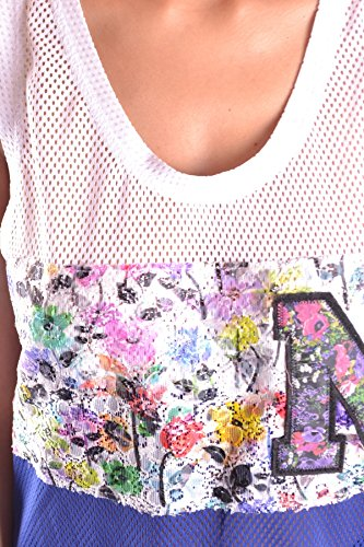 Msgm Mujer MCBI217025O Multicolor Poliéster Tank Top